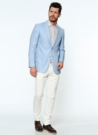 Daffari Blazer Ceket Mavi
